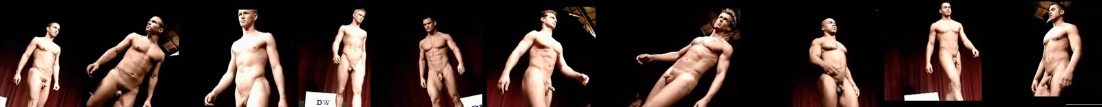 naked hunks on stage
