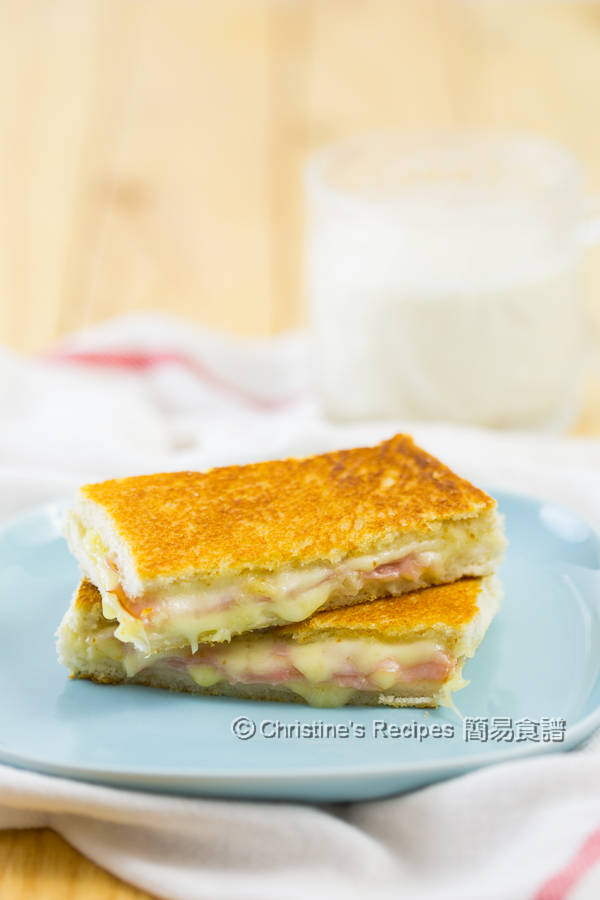 Ham & Cheese Sandwiches03