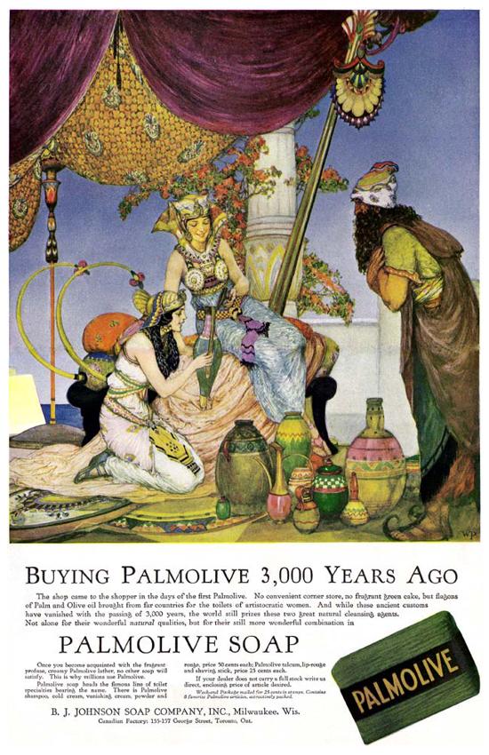 Palmolive Soap, ad June 1917