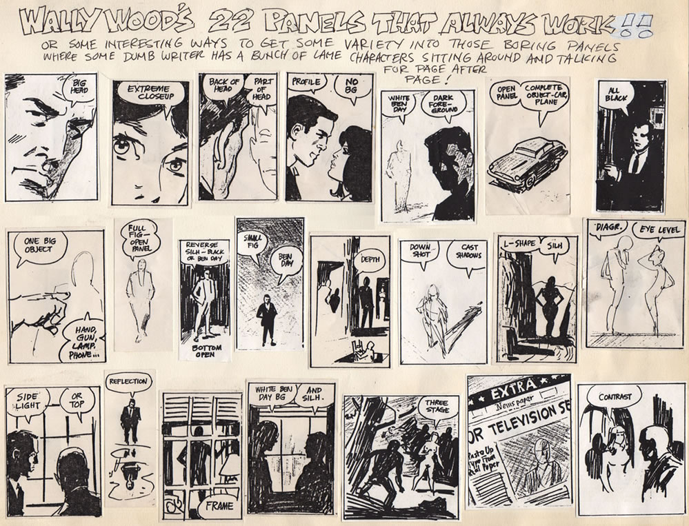 A MOMENT OF CEREBUS: Wally Wood's 22 Panels That Always Work!!