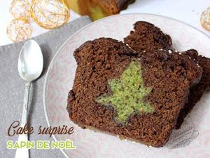 Cake suprise sapin de Noël