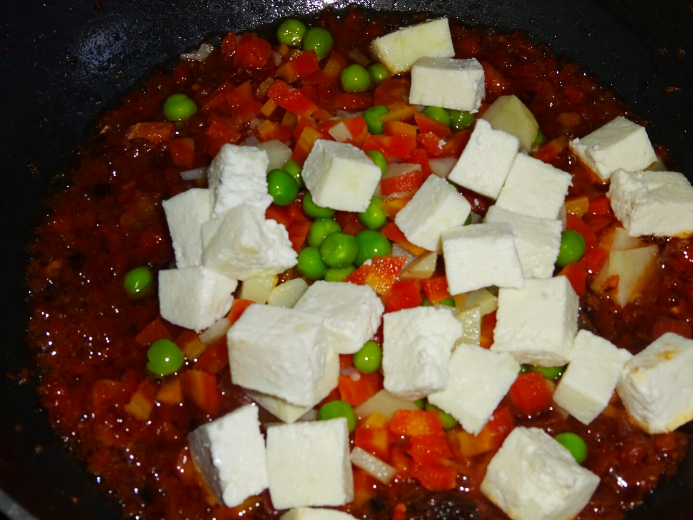 Veg Indian Good Food Recipes..: Veg Paneer Coconut Milk Pulao