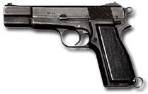 9mm pistol browning FN ki roke
