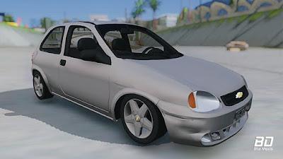 Download mod carro Chevrolet Corsa 1.6 para GTA San Andreas, GTA SA PC