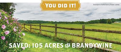 Saved! Three Tracts at Brandywine Battlefield