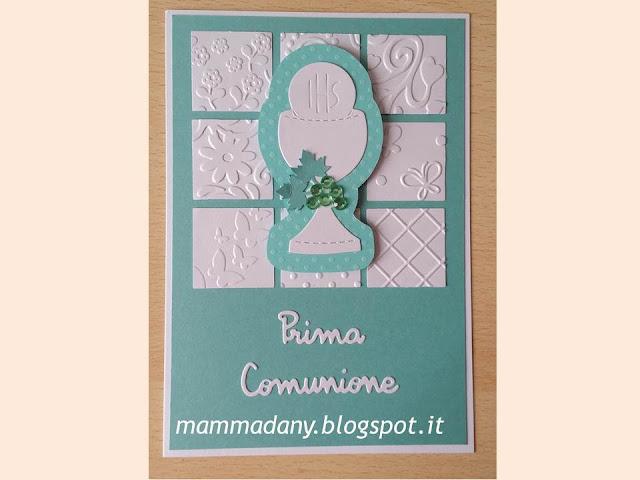 Card Tiffany portasoldi per Prima Comunione