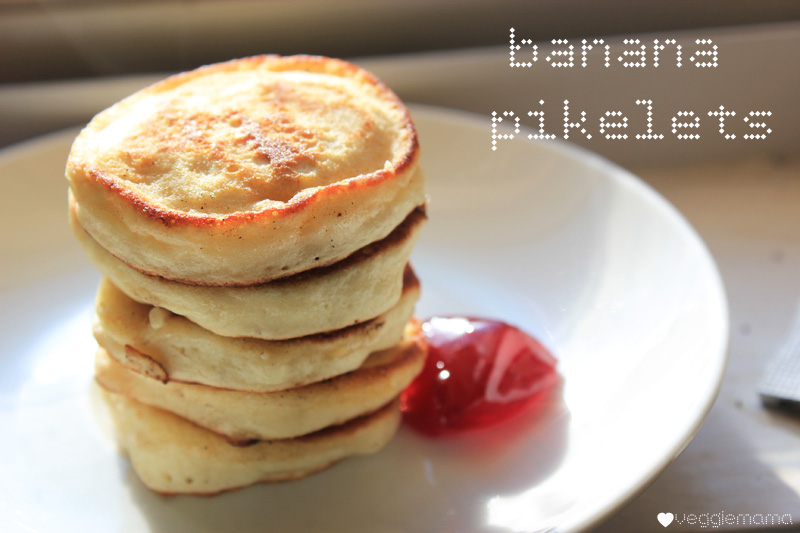 the secret to making fluffy banana pikelets is so easy!