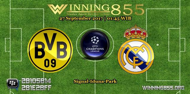 Prediksi Skor Dortmund vs Real Madrid