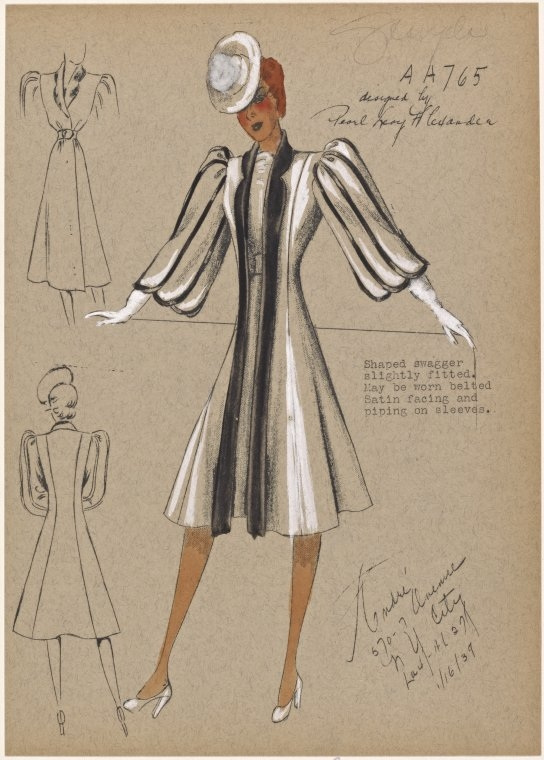 08-Haped-Swagger-Slightly-Fitted-New-York-Public-Library-André-Studios-Fashion-Vintage-Illustrations-and-Drawings-from-the-1930s-www-designstack-co