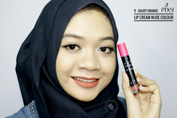 Pixy Lip Cream Nude 11 Gaudy Orange