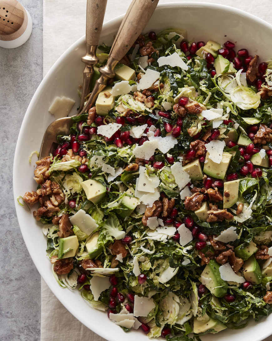 SHREDDED BRUSSELS SPROUTS SALAD | RECIPES DELICIOUS CUISINE
