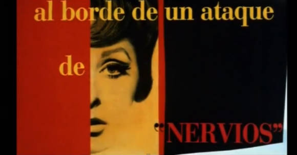 Women on the Verge of a Nervous Breakdown (Mujeres al Borde de un Ataque de Nervios),Pedro Almodovar