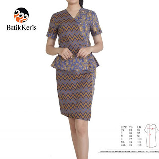 model sackdress batik kombinasi