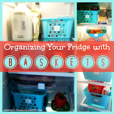Organizing Your Fridge with Baskets