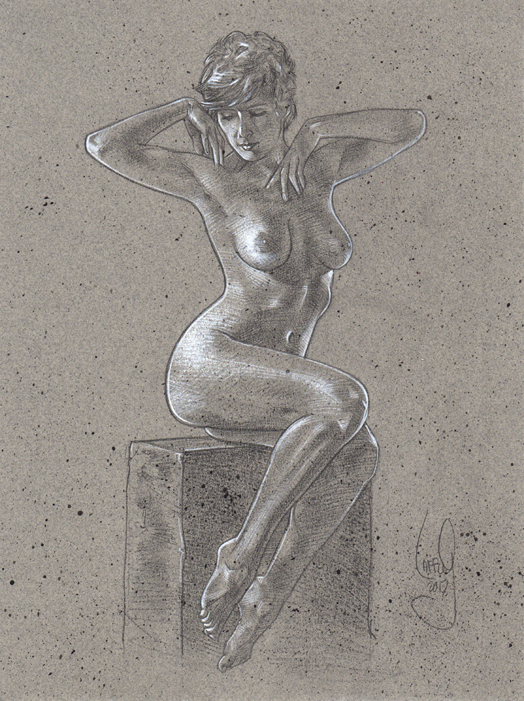 Nude, Artwork © JEFF LAFFERTY 2017