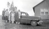 family by 1950 mercury
