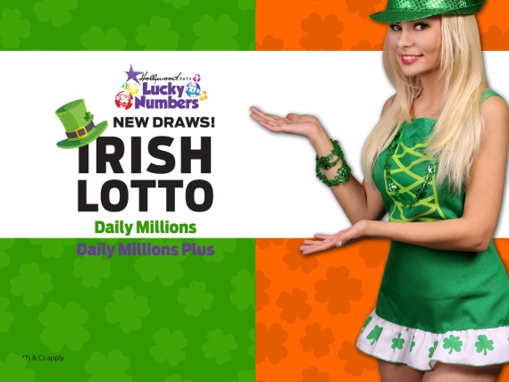 Irish Daily Millions - Bet on this draw with Lucky Numbers at Hollywoodbets