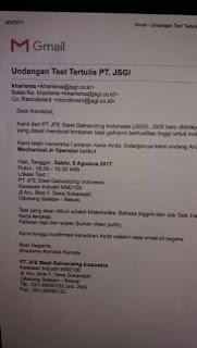 PT JFE Steel Galvanizing Indonesia