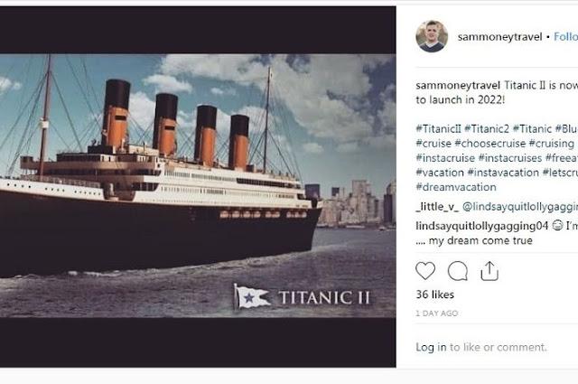 Kapal Titanic II Segera Berlayar