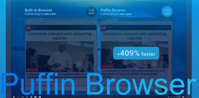 بعد طول إنتظار متصفح puffin browser متوفر لكل الأنظمة أسرع من أي متصفح آخر