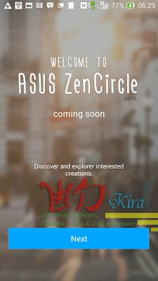 Asus ZenCircle Wd-Kira