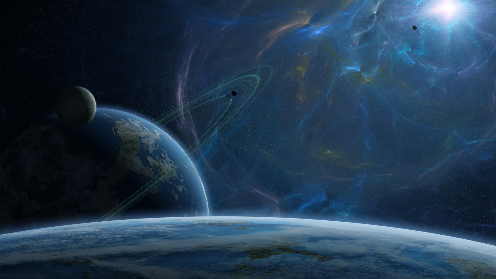 30 Hd Space Ipad Wallpapers: Space Wallpapers