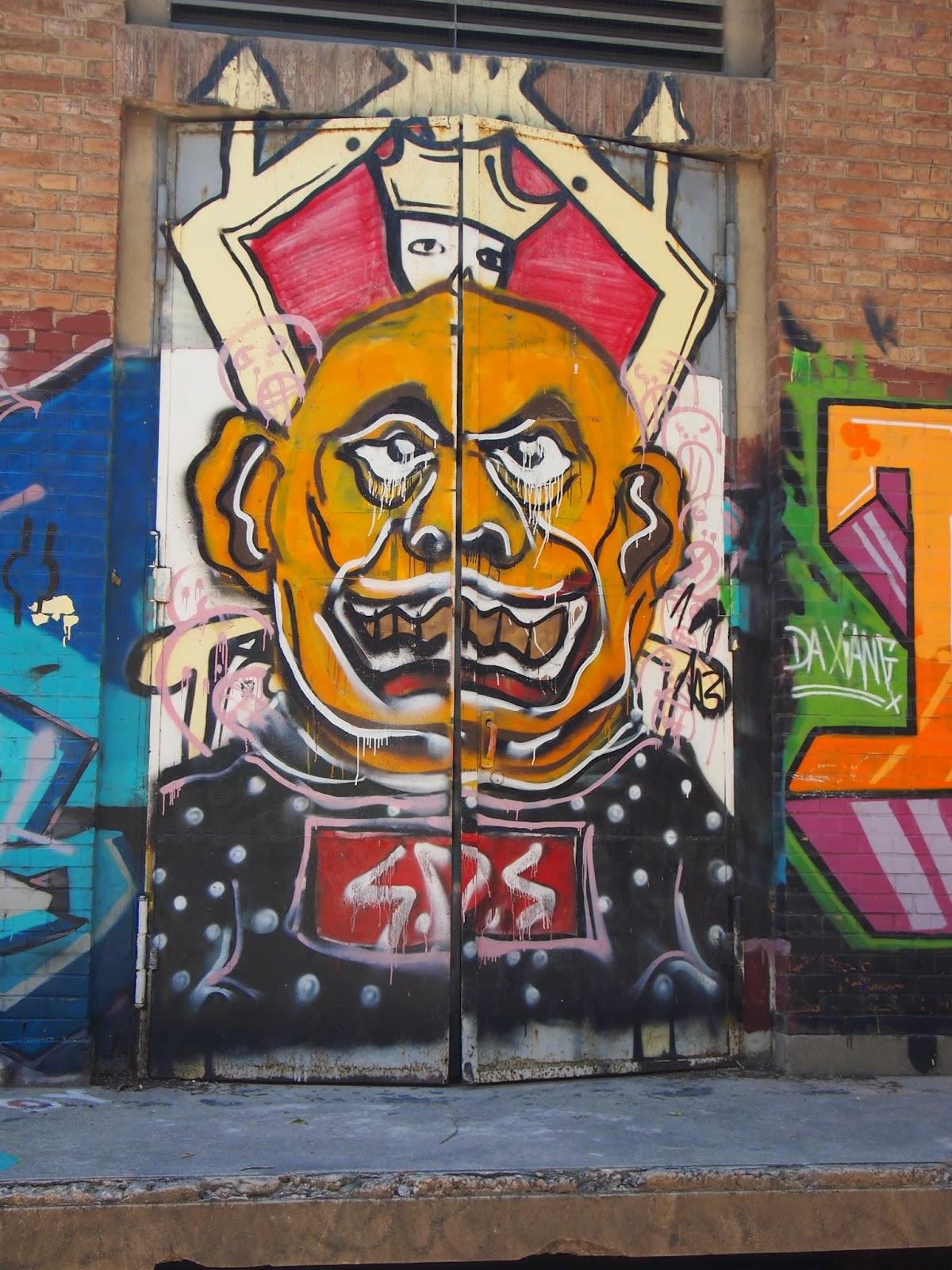 sultan street art in the 798 art district