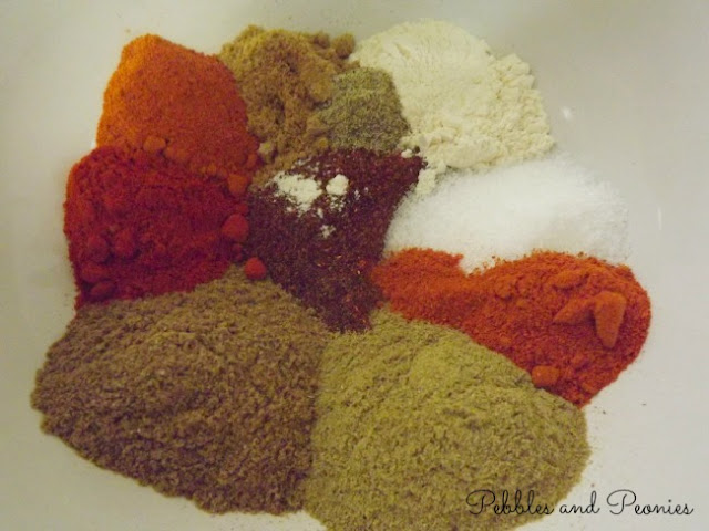 Make your own homemade taco seasoning.