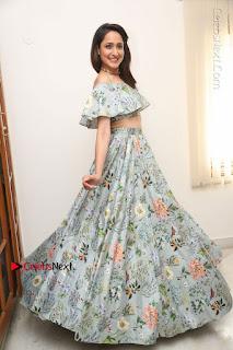 Actress Pragya Jaiswal Stills in Floral Dress at turodu Interview  0208.JPG