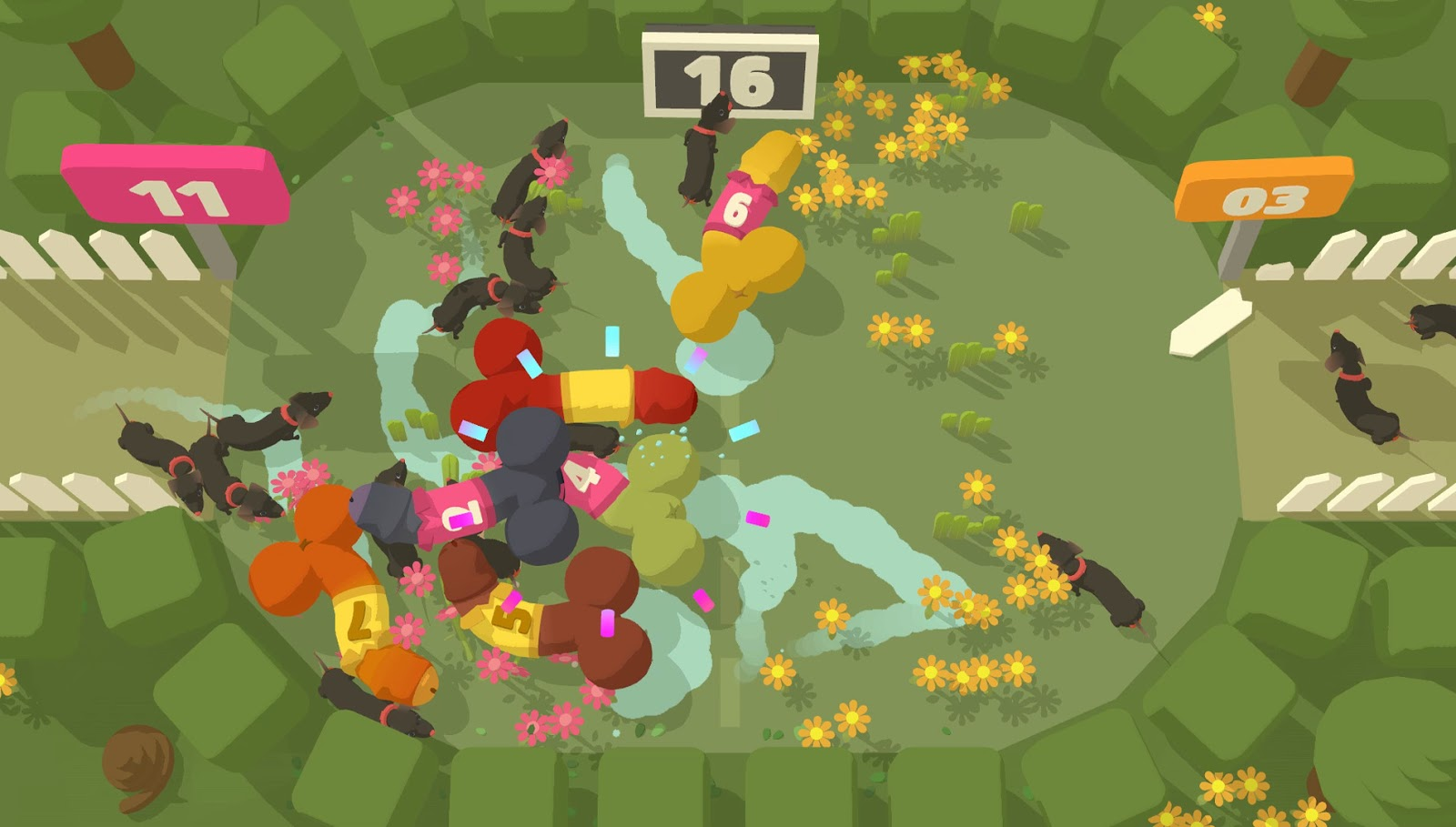 genital jousting game