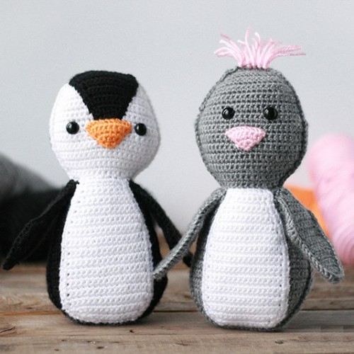 Simple Amigurumi Penguin - Free Pattern