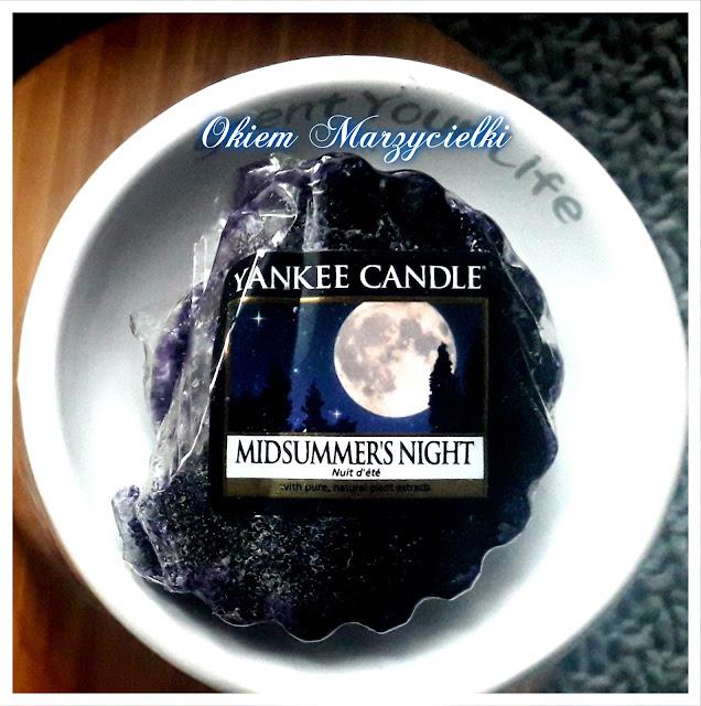 Pachnąca sobota z Yankee Candle-Midsummer's Night- recenzja #6