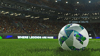 PES 2018 Football Wallpaper