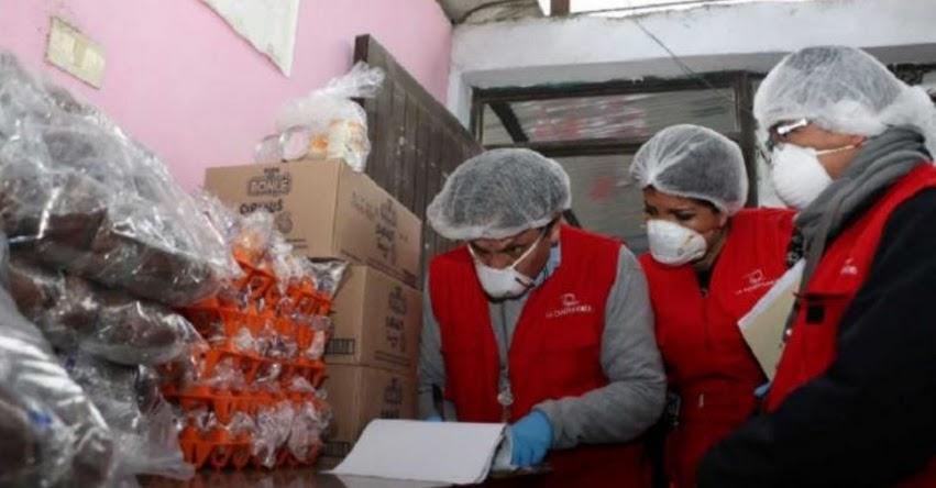 QALI WARMA: Contraloría supervisa alimentos del programa social en 530 colegios del país