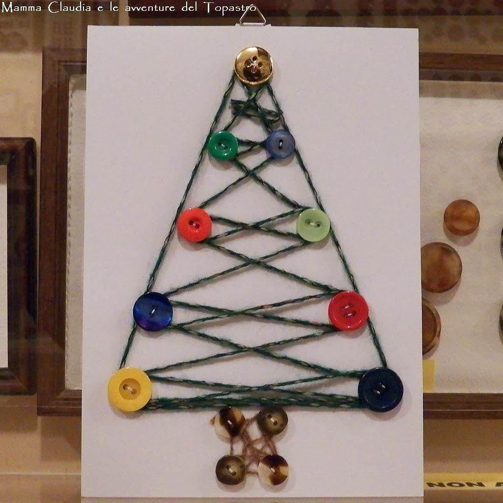 Lavoretti Di Natale Con I Bottoni.Mamma Claudia E Le Avventure Del Topastro Bottoni E Natale