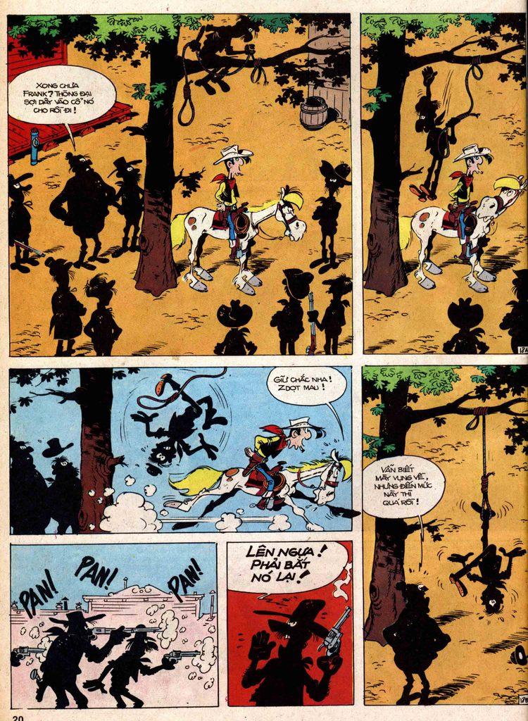Lucky Luke tap 18 - ki si ao trang trang 18