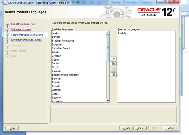 Oracle database client installation guide for microsoft windows