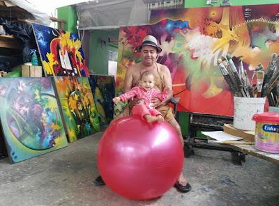 pedro cabrera pintor cuadros abstractos