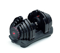 Bowflex SelectTech ST 1090 Adjustable Dumbbell, review features compared with ST552, weight range from 10 lbs to 90 lbs in 5 lb increments