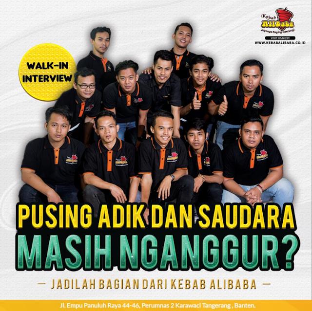 Open Recruitment Pramuniaga Outlet PT. Berkah Purnama Sewu (Kebab Alibaba)