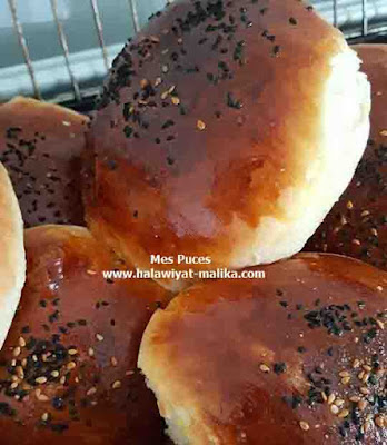 خبز البورغر الهش