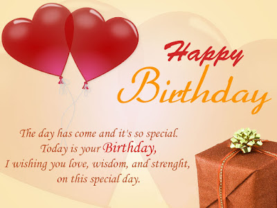 Happy Birthday wishes quotes for husband: the day has come and it's so special.