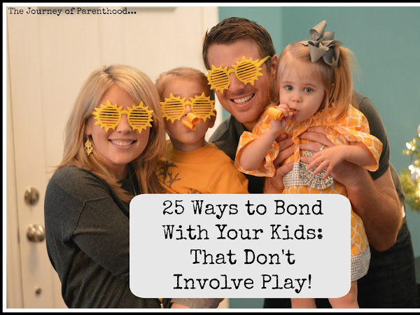 25 Ways To Bond With Your Kids That Don't Involve Play