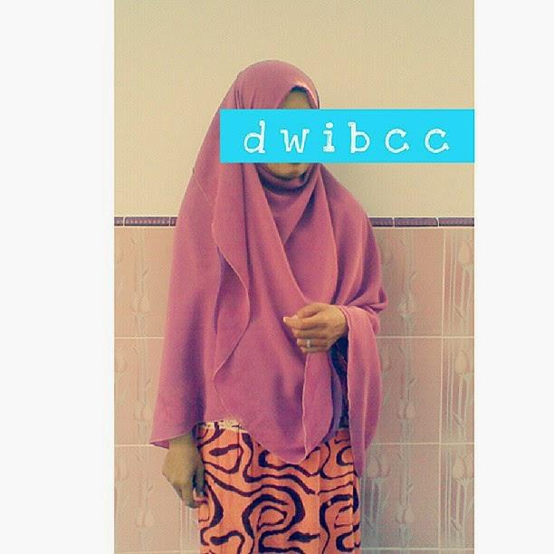 hijab syar'i Pre Order dwibcc