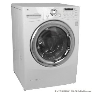 front load washer reviews: LG WM3987HW 27 Front Load Washer