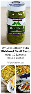 Kalyn's Kitchen Picks: Kirkland Basil Pesto (plus 20 recipes using Pesto from Kalyn and other bloggers!)