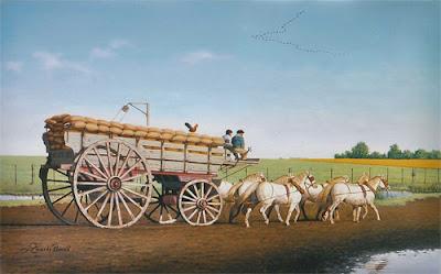 carreta+pintura argentina
