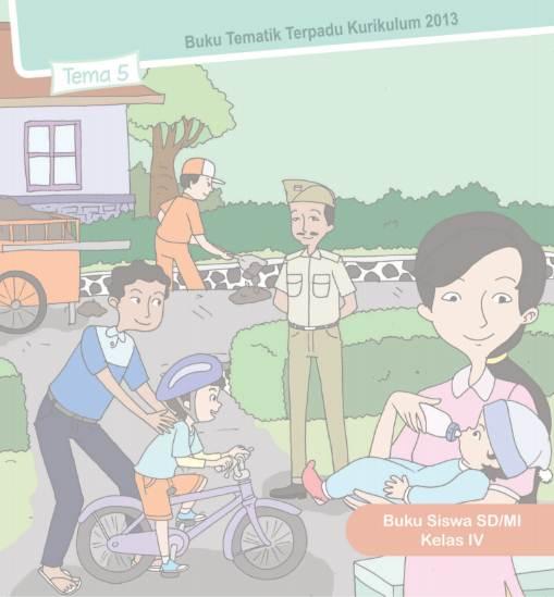 Download Buku Guru dan Buku Siswa Kelas 4 semester 1