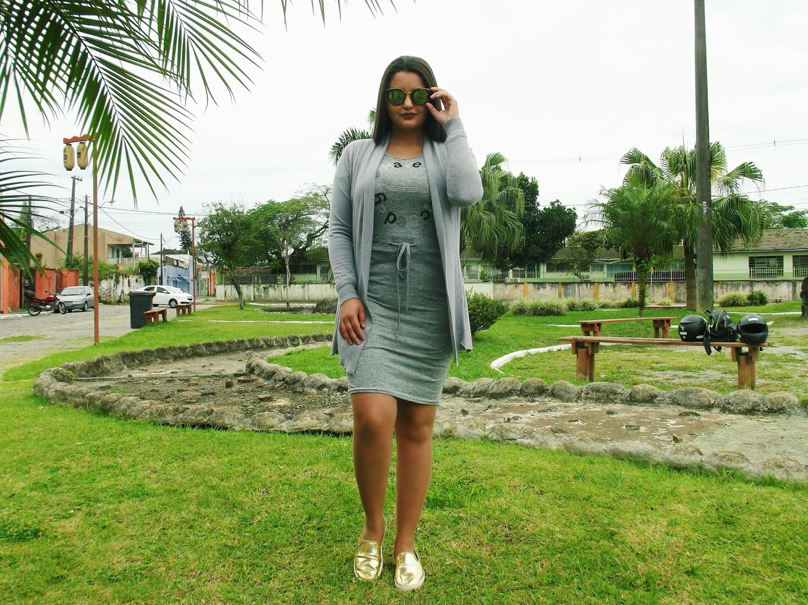 Look do dia: Vestido + Kimono