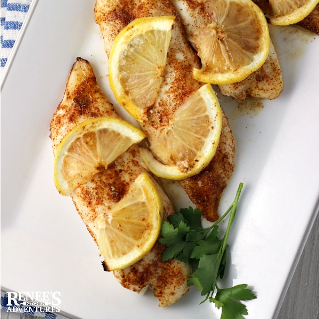 Terrific Tilapia Loins | Renee's Kitchen Adventures